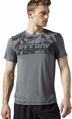 Pánské fitness tričko Reebok WorkOut Ready Premium Graphic Tech Top