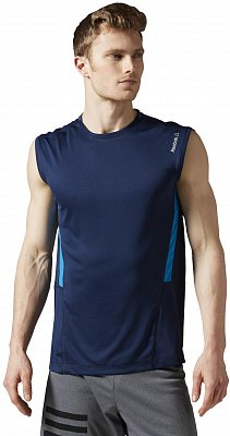 Pánské fitness tričko Reebok WorkOut Ready Sleeveless Tech Top