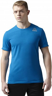 Pánské fitness tričko Reebok WorkOut Ready Stacked Logo Supremium Tee