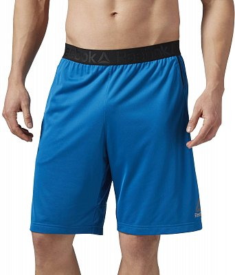 Pánské fitness kraťasy Reebok WorkOut Ready Stacked Logo Short