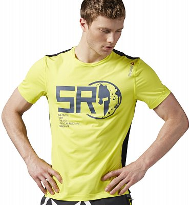 Pánské běžecké tričko Reebok Spartan Pro SS Tee
