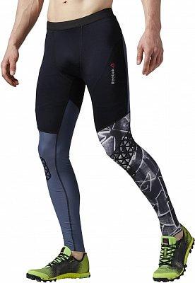 Pánské běžecké kalhoty Reebok Spartan Pro Compression Tight