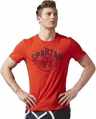 Pánské běžecké tričko Reebok Spartan Race Short Sleeve Bi-blend Tee