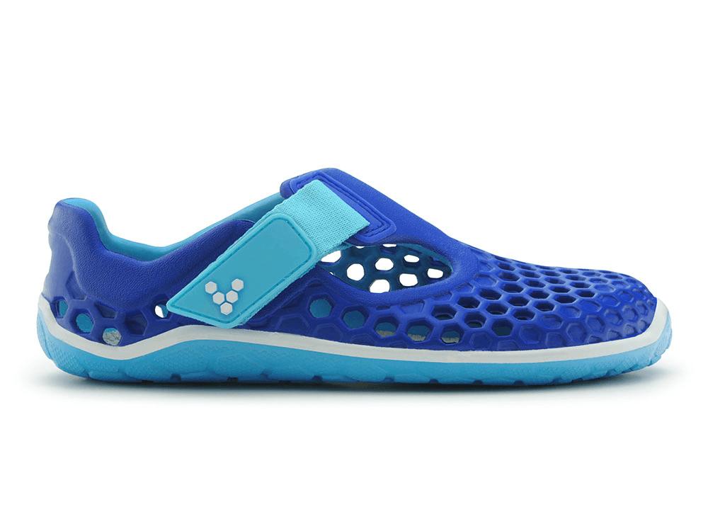 Dětská vycházková obuv VIVOBAREFOOT ULTRA K EVA Royal Blue/Turquoise