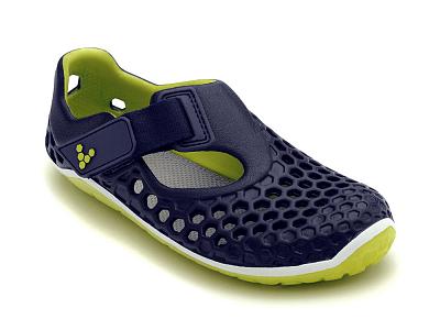 Dětská vycházková obuv VIVOBAREFOOT ULTRA K EVA Navy/Sulphur
