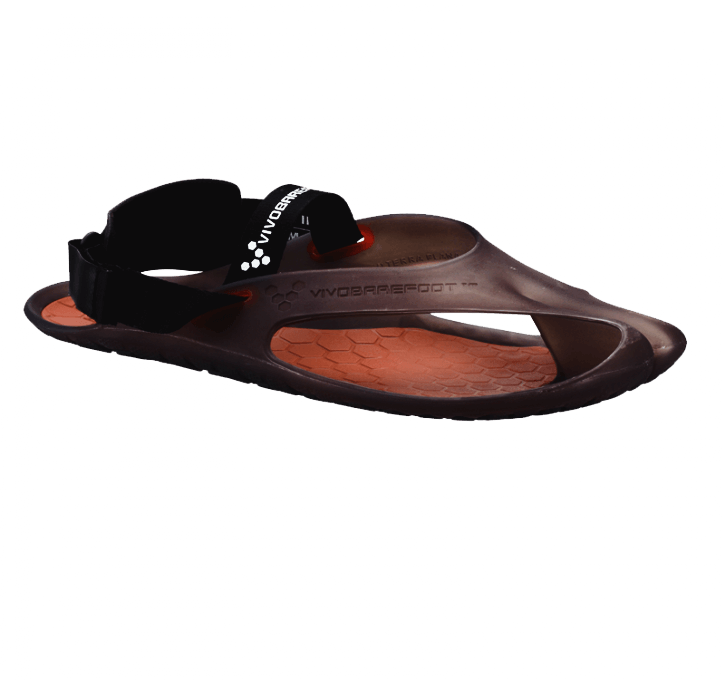 Barfußschuhe VIVOBAREFOOT Achilles  L Black/Salmon
