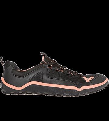 Dámske bežecké topánky VIVOBAREFOOT Breatho II  Black/Salmon