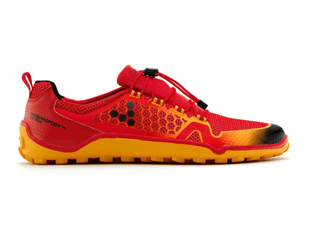 Pánske bežecké topánky VIVOBAREFOOT TRAIL FREAK 3M Red/Orange