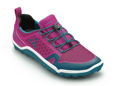 Dámské běžecké boty VIVOBAREFOOT TRAIL FREAK L 3M Mesh Pink/Teal