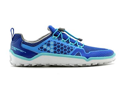 Dámské běžecké boty VIVOBAREFOOT TRAIL FREAK L 3M Mesh Blue/Turquoise