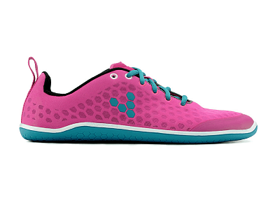 Dámske bežecké topánky VIVOBAREFOOT STEALTH L Pink/Teal