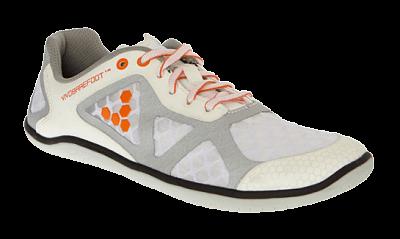 Dámské běžecké boty VIVOBAREFOOT One L TC White/Orange