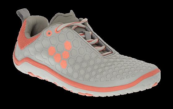 Dámské běžecké boty VIVOBAREFOOT EVO LITE L 4.0 Grey/ Salmon