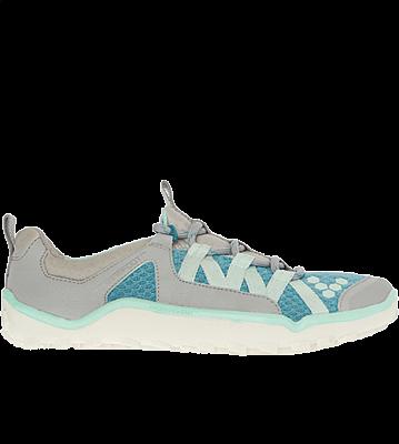 Dámské běžecké boty VIVOBAREFOOT BREATHO II  Teal/ Grey L