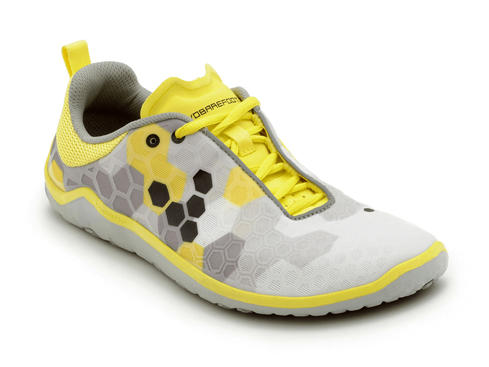 Pánské běžecké boty VIVOBAREFOOT EVO LITE M 4.0 Grey/ Yellow