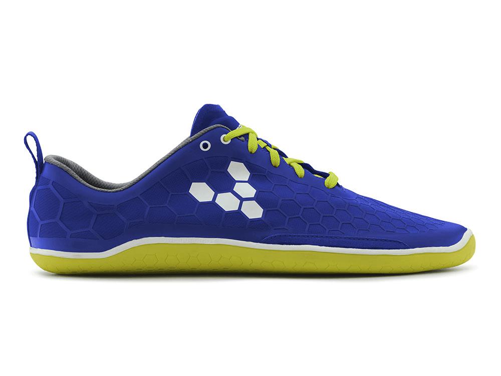 Pánské běžecké boty VIVOBAREFOOT EVO PURE M BLUE/ SULPHUR