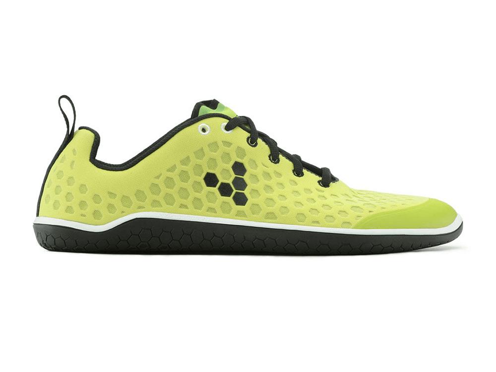 Pánske bežecké topánky VIVOBAREFOOT Stealth M Lime