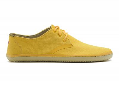 Pánská vycházková obuv VIVOBAREFOOT RA II CANVAS YELLOW