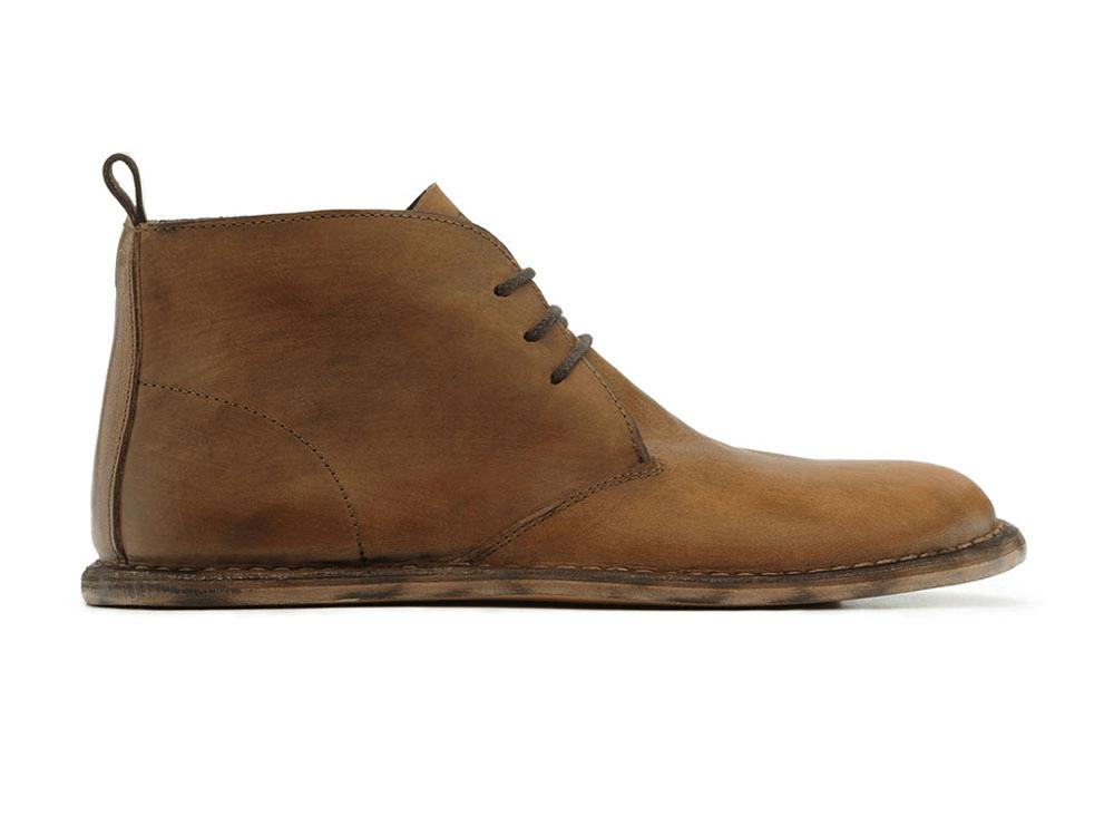 Pánská vycházková obuv VIVOBAREFOOT PORTO M Tan