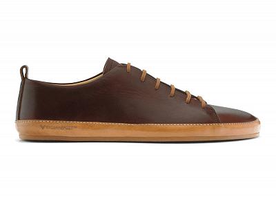 Pánská vycházková obuv VIVOBAREFOOT BANNISTER M DK Brown