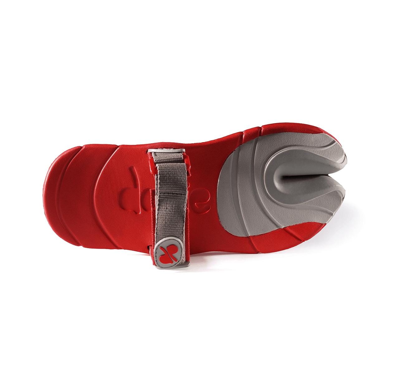 Pánská vycházková obuv VIVOBAREFOOT Dopie Red/ Grey