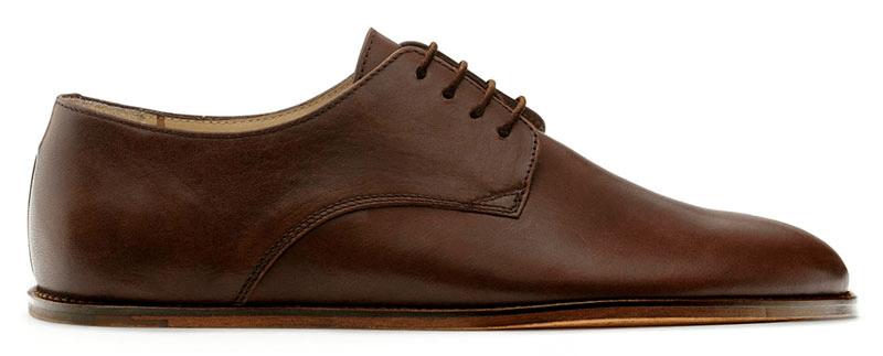 Pánská vycházková obuv VIVOBAREFOOT LISABON M DK Brown