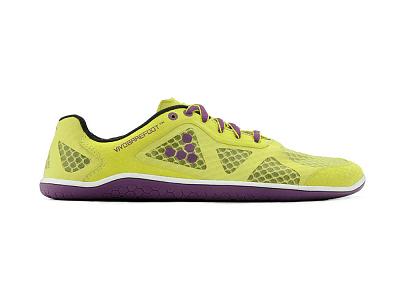 Dámske bežecké topánky VIVOBAREFOOT One L Sulphur/Purple