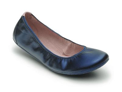 Dámská vycházková obuv VIVOBAREFOOT JING JING Midnight Blue