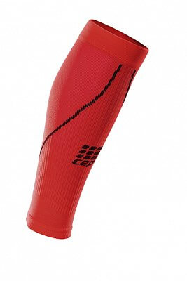 Návleky CEP lýtkové návleky pánské červená