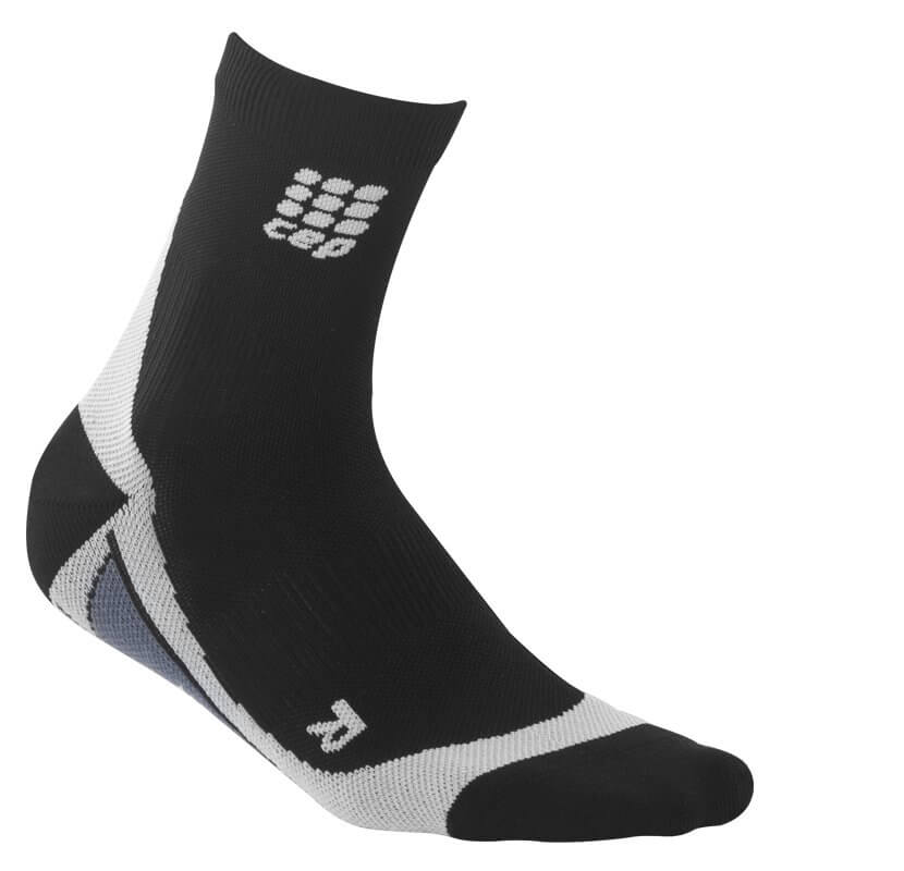 Socken CEP Krátké ponožky dámské černá / šedá
