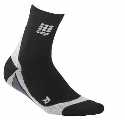 Ponožky CEP Krátké ponožky dámské černá / šedá