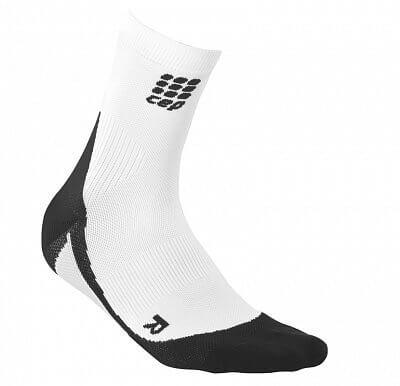 Ponožky CEP Krátké ponožky dámské bílá / černá