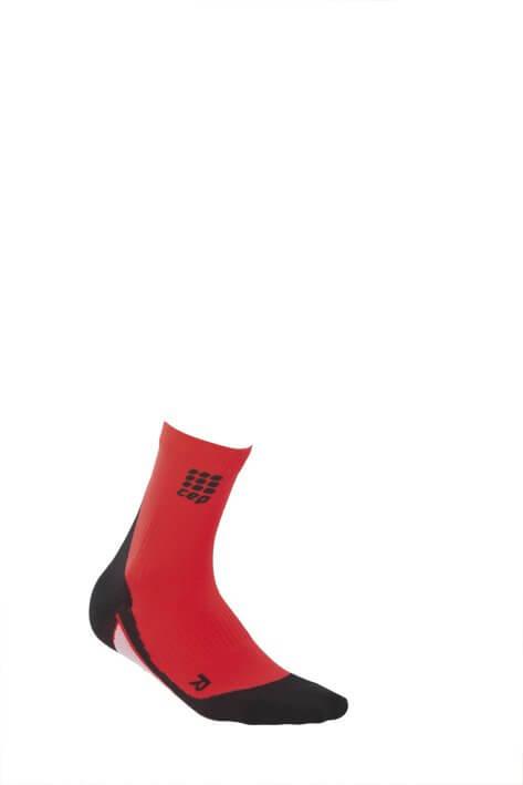 Socken CEP Krátké ponožky dámské červená / černá