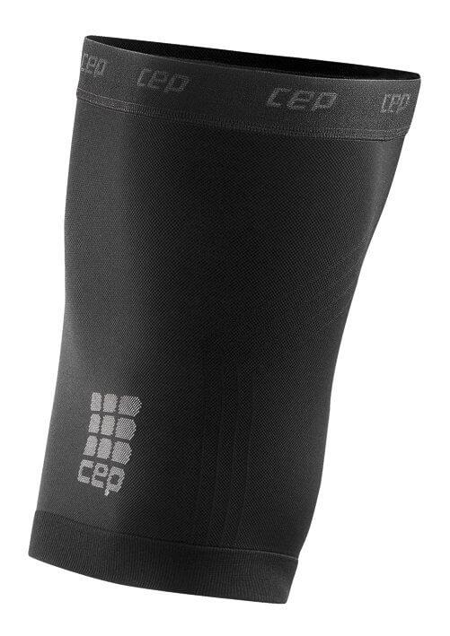 Kéz- és lábmelegítők CEP Stehenní návleky černá
