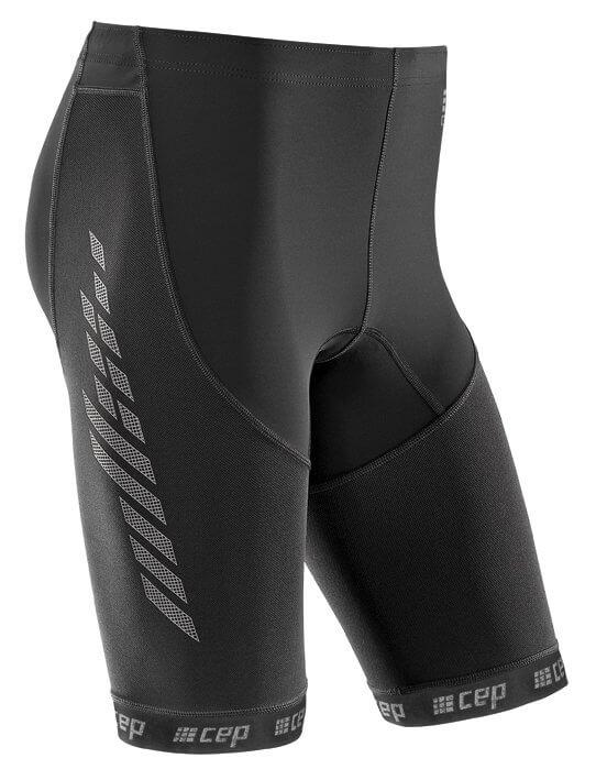 Szorty CEP Běžecké šortky 2.0 pánské černá