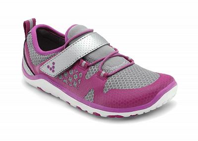 Dětské běžecké boty VIVOBAREFOOT TRAIL FREAK K Raspberry