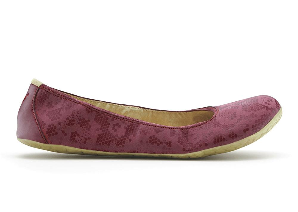 Dámská vycházková obuv VIVOBAREFOOT JING JING Raspberry