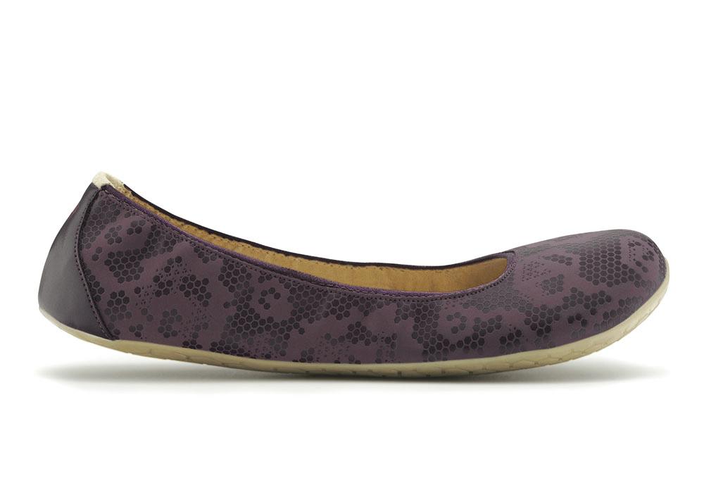 Dámská vycházková obuv VIVOBAREFOOT JING JING Wine