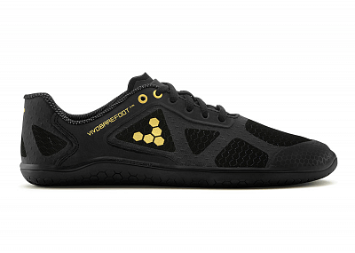 Dámské běžecké boty VIVOBAREFOOT One L TC Black/Gold