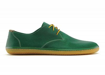 Pánská vycházková obuv VIVOBAREFOOT RA Leather Green (Hopewell)
