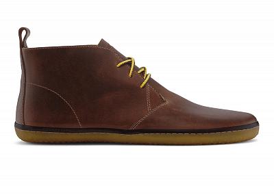 Pánská vycházková obuv VIVOBAREFOOT GOBI II M Leather Tobacco(Hopewell)