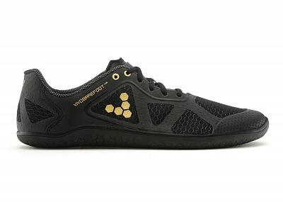 Pánske bežecké topánky VIVOBAREFOOT One M TC Black/Gold