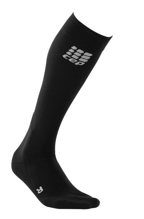Ponožky CEP Podkolenky pro jezdectví dámské černá / šedá