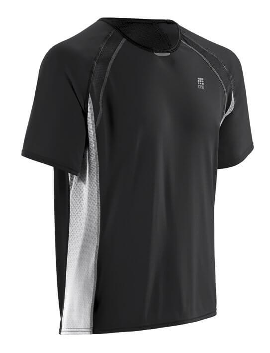 T-Shirts CEP Běžecké tričko RUN TEC TEE pánské černá