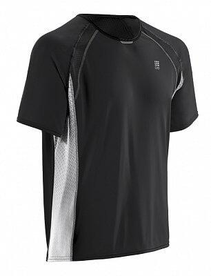Trička CEP Běžecké tričko RUN TEC TEE pánské černá