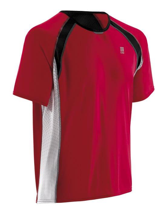 Pólók CEP Běžecké tričko RUN TEC TEE pánské červená