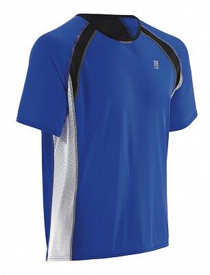Tričká CEP Bežecké tričko RUN TEC TEE pánske modrá