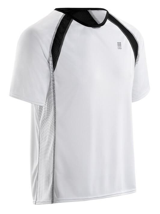 T-Shirts CEP Běžecké tričko RUN TEC TEE pánské bílá
