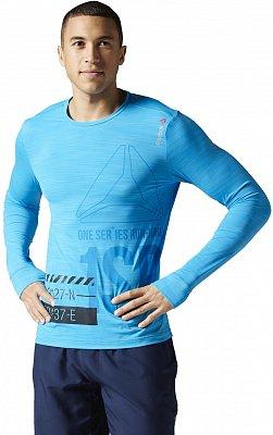 Pánské běžecké tričko Reebok One Series Running Long Sleeve ACTIVChill Tee