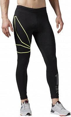 Pánské běžecké kalhoty Reebok One Series Running Tight